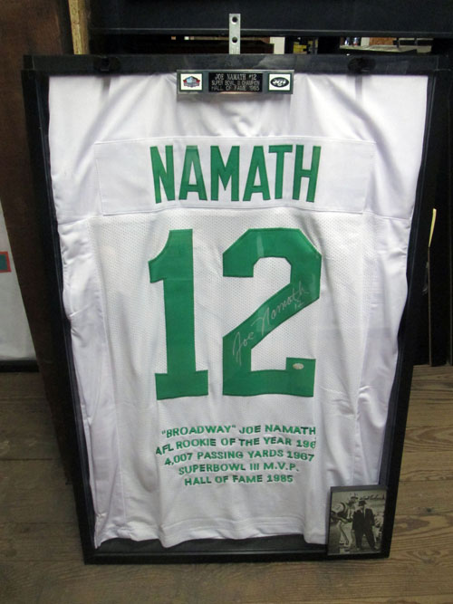 100 piece NFL autographed jersey collection image 5