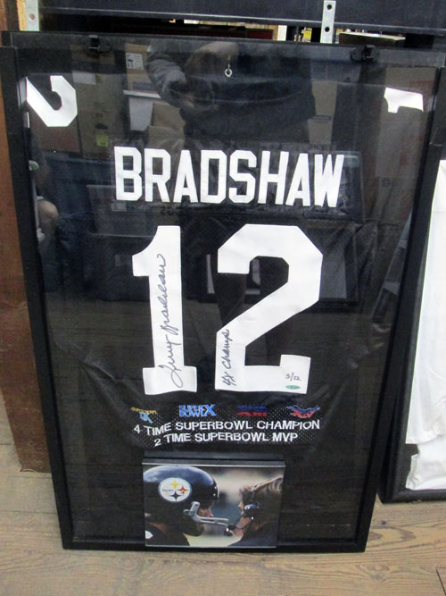100 piece NFL autographed jersey collection image 9