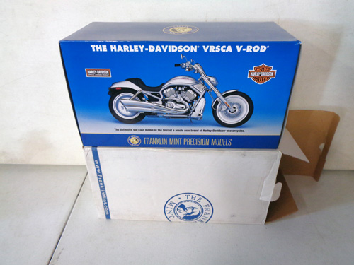 75 piece franklin mint motorcycle collection image 1