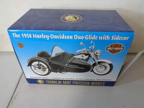 75 piece franklin mint motorcycle collection image 3