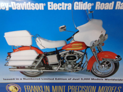 75 piece franklin mint motorcycle collection image 4