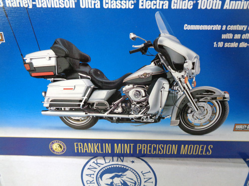75 piece franklin mint motorcycle collection image 5