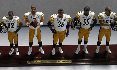Danbury Mint Pittsburgh Steelers