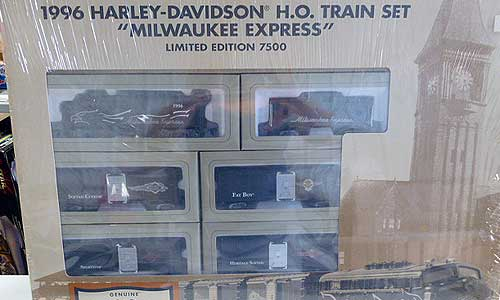 Harley Davidson Train Collection (2)