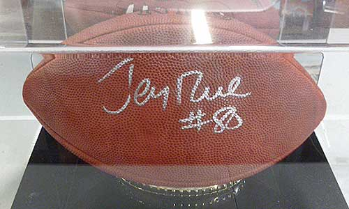 Jerry Rice Autographed Football
