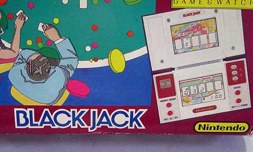 Nintendo BlackJack