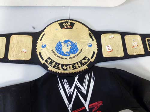 image of WWF and WWE championship belts 1