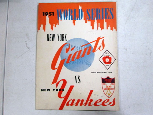 image 10 of an incredible sports memorabilia collections with world series programs and tickets