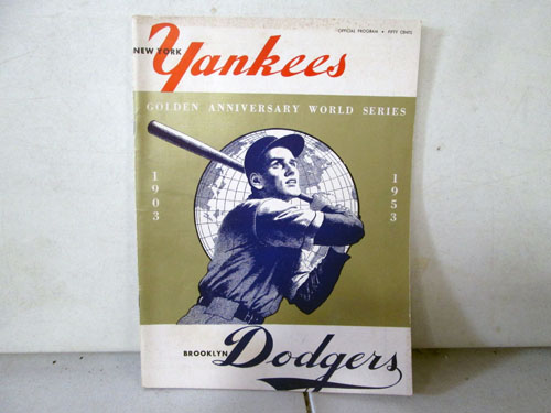image 27 of an incredible sports memorabilia collections with world series programs and tickets