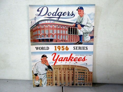 image 29 of an incredible sports memorabilia collections with world series programs and tickets
