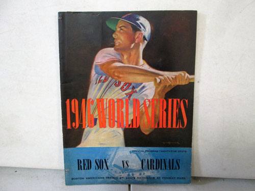 image 32 of an incredible sports memorabilia collections with world series programs and tickets