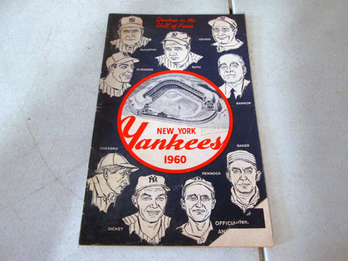 image 34 of an incredible sports memorabilia collections with world series programs and tickets