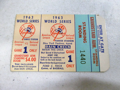 image 50 of an incredible sports memorabilia collections with world series programs and tickets