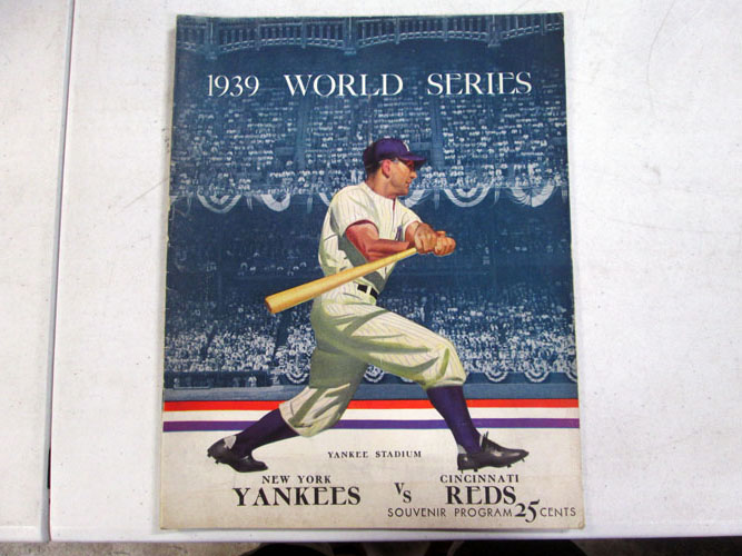 image 6 of an incredible sports memorabilia collections with world series programs and tickets