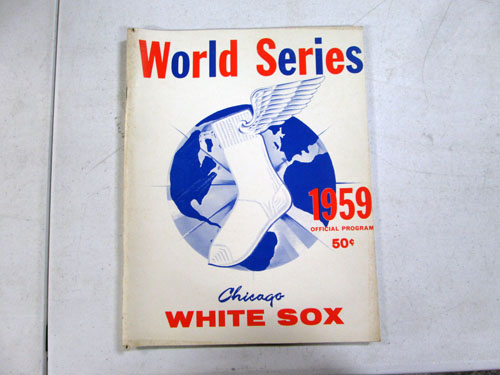 image 8 of an incredible sports memorabilia collections with world series programs and tickets