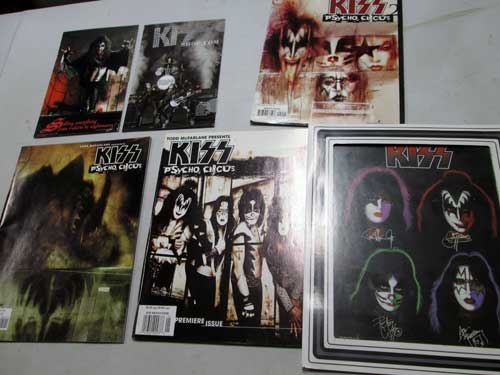 image of Kiss collectibles 10