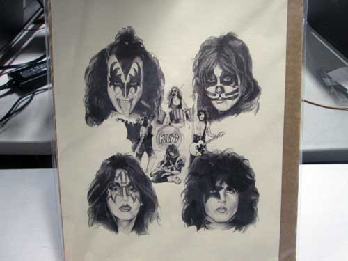 image of Kiss collectibles 5