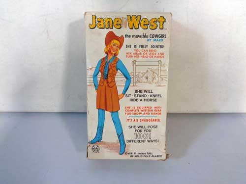 image of Marx Johnny West toys 3