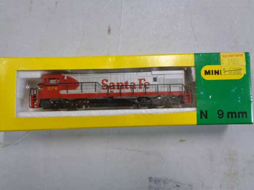 image of an N-gauge train collection 10