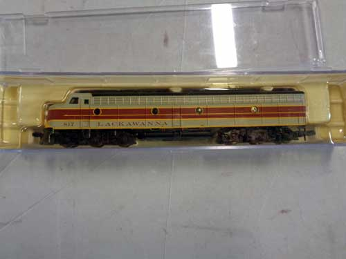 image of an N-gauge train collection 11