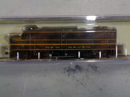 image of an N-gauge train collection 12