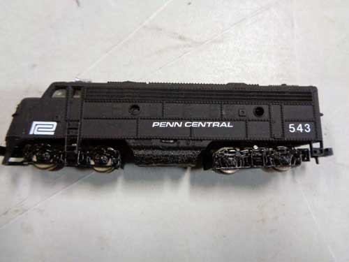 image of an N-gauge train collection 4
