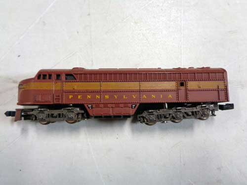 image of an N-gauge train collection 8