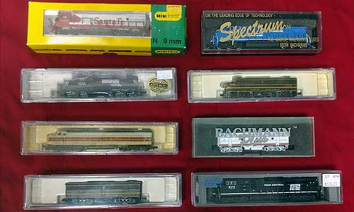 n-scale trains