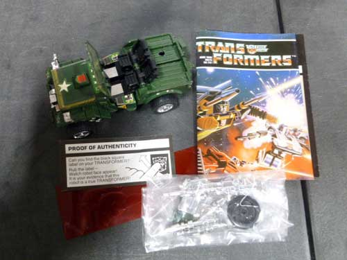 image of transformers G1 collectible 2
