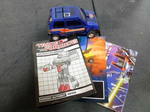 image of transformers G1 collectible 25