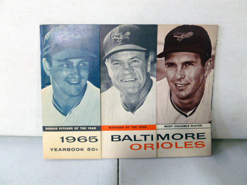 vintage baltimore orioles yearbook collection image 2