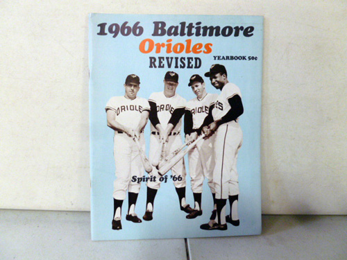 vintage baltimore orioles yearbook collection image 3