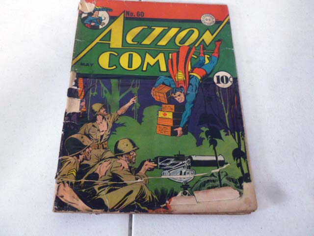 Vintage comic book collection with early DC comics image 15