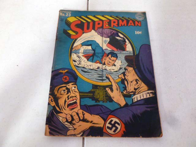 Vintage comic book collection with early DC comics image 2