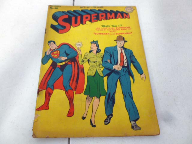 Vintage comic book collection with early DC comics image 3
