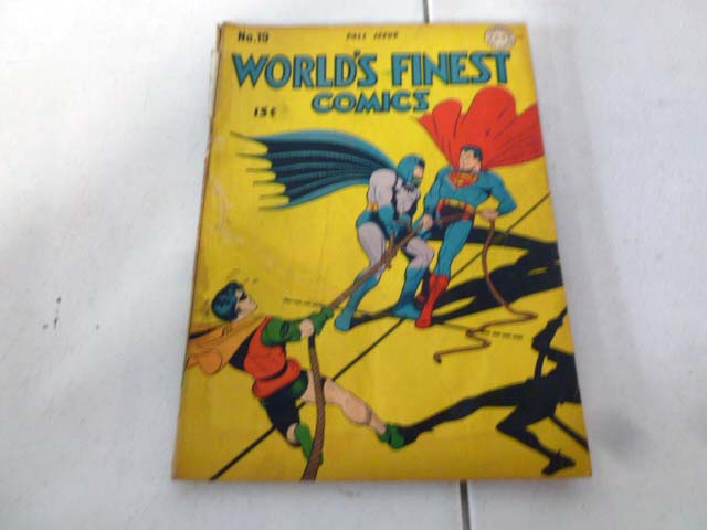 Vintage comic book collection with early DC comics image 6